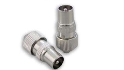 Coax Male   Connector 6/7mm RG6 WF100 Pk of 2