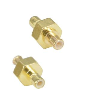 SMB Male to MCX Male straight plug RF connector adapter
