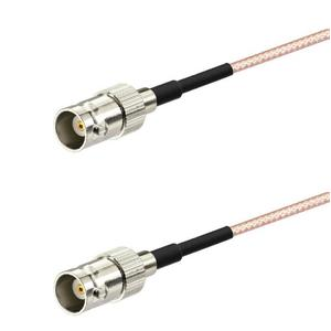 BNC Female to BNC Female 20cm Cable RG316